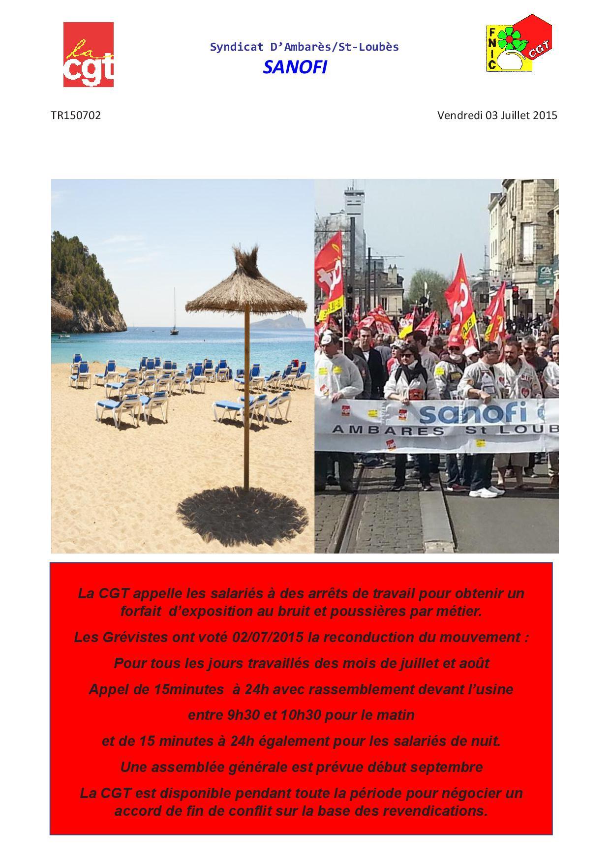 TR150702 grève  Juillet.Aout 2015 affiche