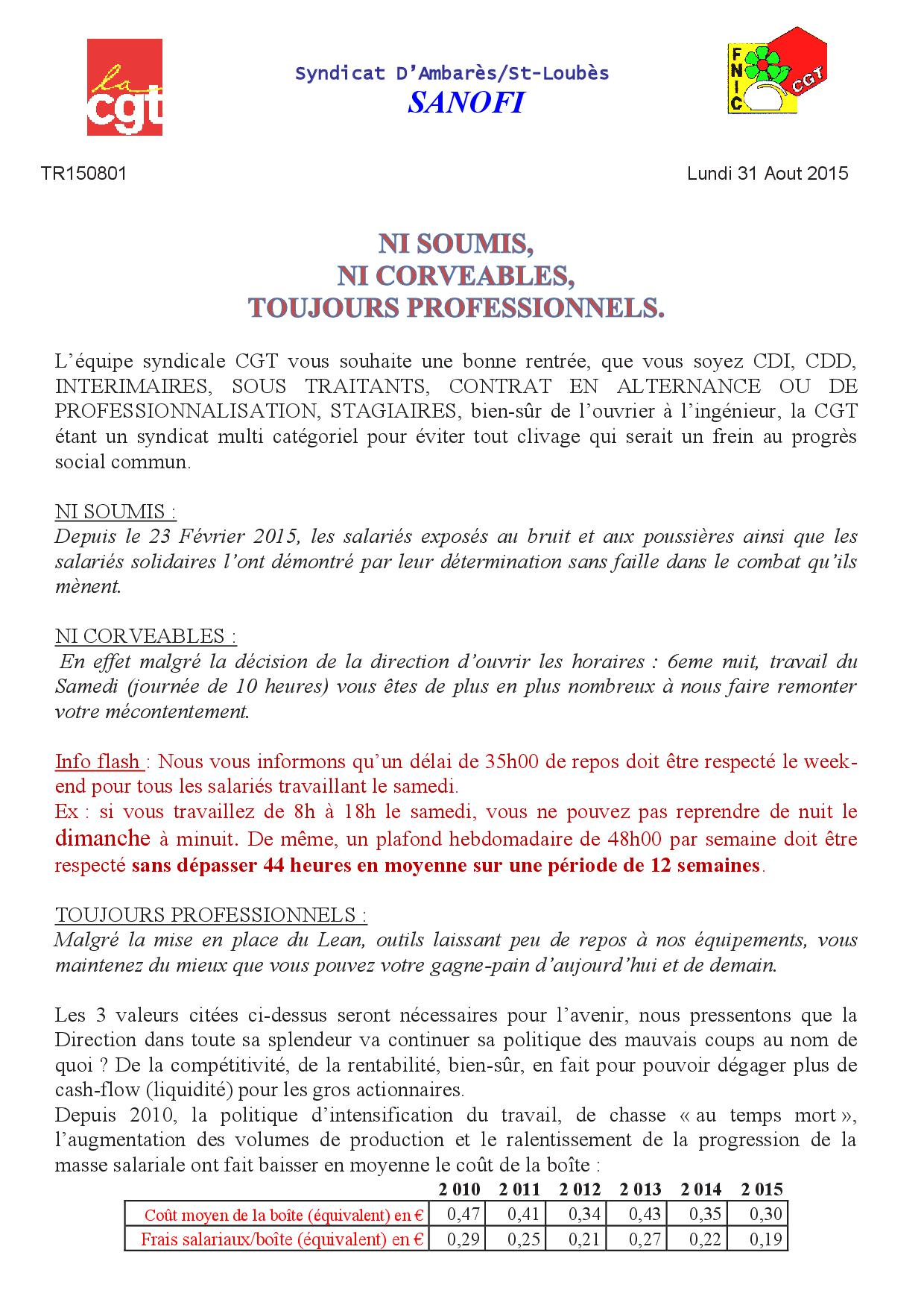 TR150801 grève du lundi 31 Aout 2015
