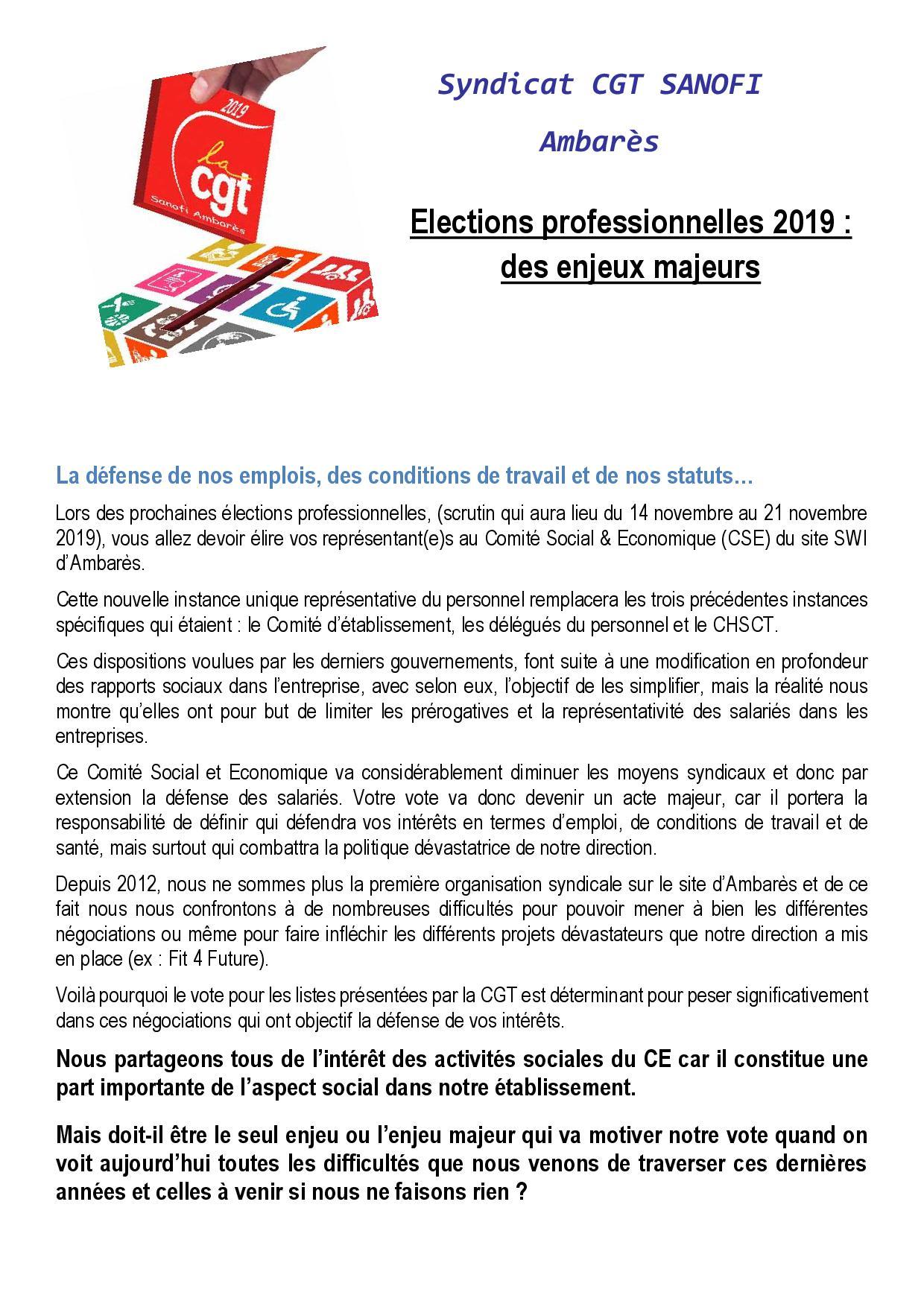 06 Profession de foi CGT Ambarès 20191